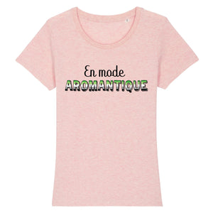 "T-shirt ""En mode Aromantique"" 