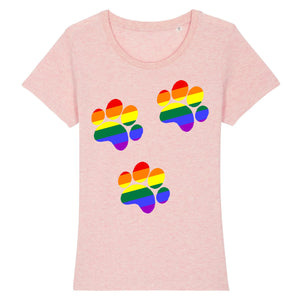 "T-shirt ""Patte de Chien LGBT"" 