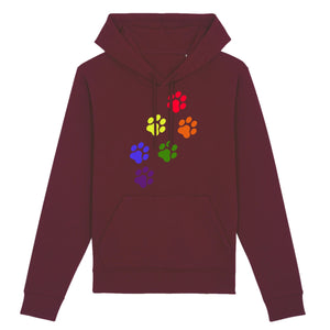 "Pull ""Empreintes de Chat LGBT"" 