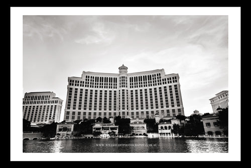 USA - Las Vegas Bellagio B&W