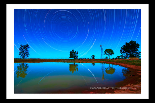 Star Trails - LV Western Queensland