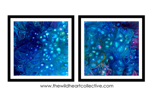 CUSTOM DESIGN - Soul Mate Diptych (2 matching artworks)