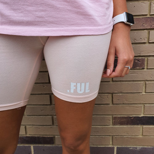 Bloom.FUL Powder Pink Cycle Shorts