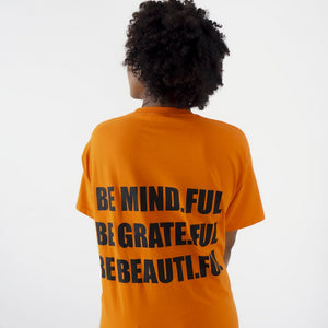 Power Trio T-shirt in Power Orange
