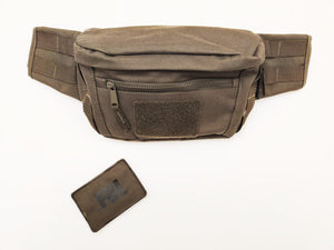 Utility Belt Bag in Khaki