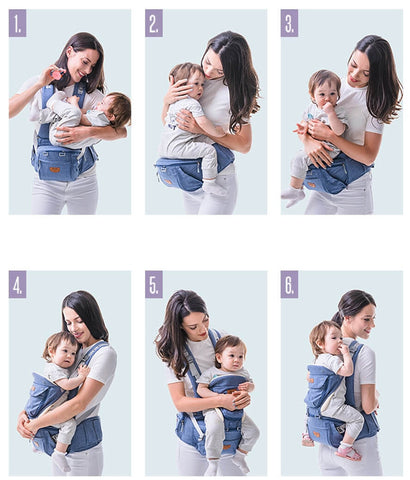 Baby Carrier - 6 in 1 positions