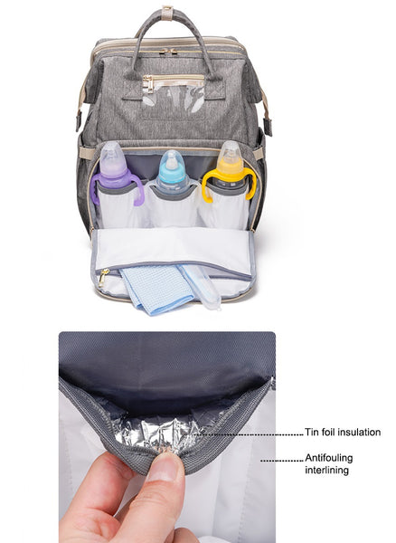 Super Baby Diaper Backpack | Nappy Bag
