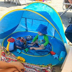BABY BEACH TENT UV - PROTECTING SUN SHELTER