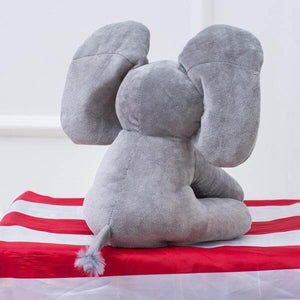 NEW! Peek-A-Boo™ Elephant Push Doll