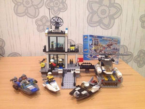 Police High-Speed Chase Building Blocks (536+pcs)