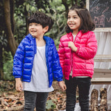Unisex Kids Hooded Down Jacket