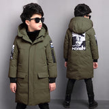 Children's Winter Long Parka Outerwear