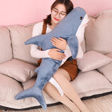 Soft Shark Plush Pillow