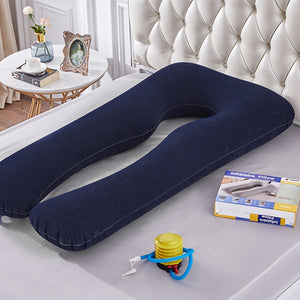 Inflatable Maternity Pillow | Pregnancy Sleeping Support