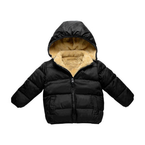 Fleece Winter Parka for Boys & Girls