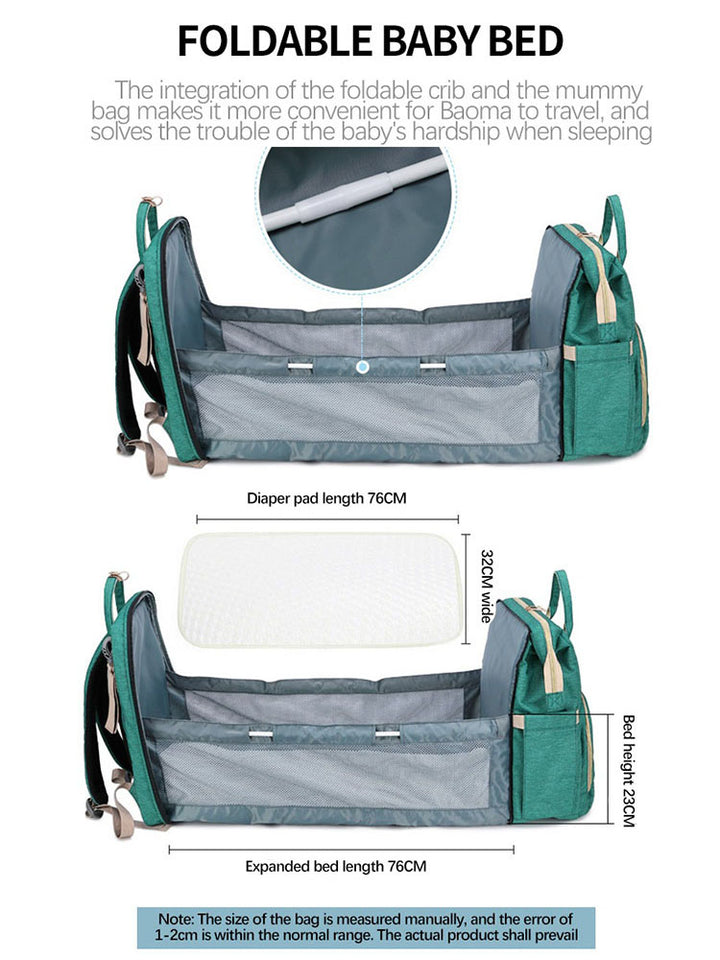 Diaper Bag N' Changing Bed
