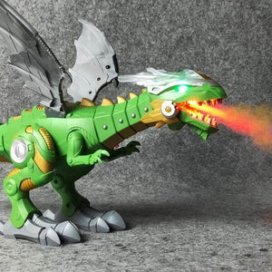 Blazing Fire Breathing Dragon