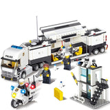 Police Station Criminal Watch Building Blocks (511+pcs)