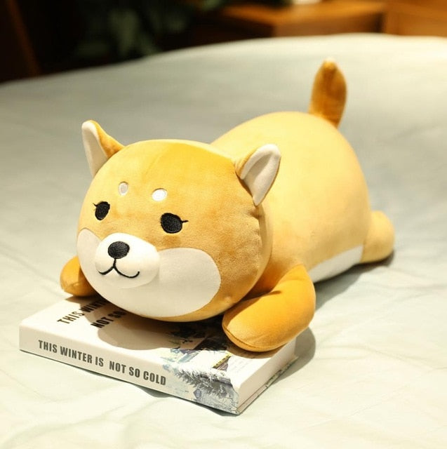Cute Dog Plush Cuddle Pillow