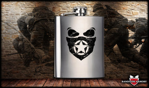 Banditos Mask Flask