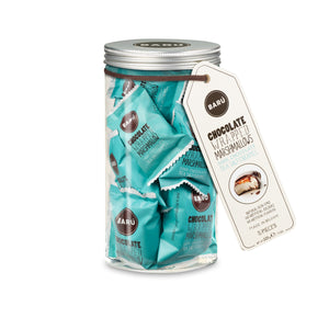 BARÚ - Chocolate Wrapped Heaven: Gift Jar Dark Chocolate/Sea Salt Caramel
