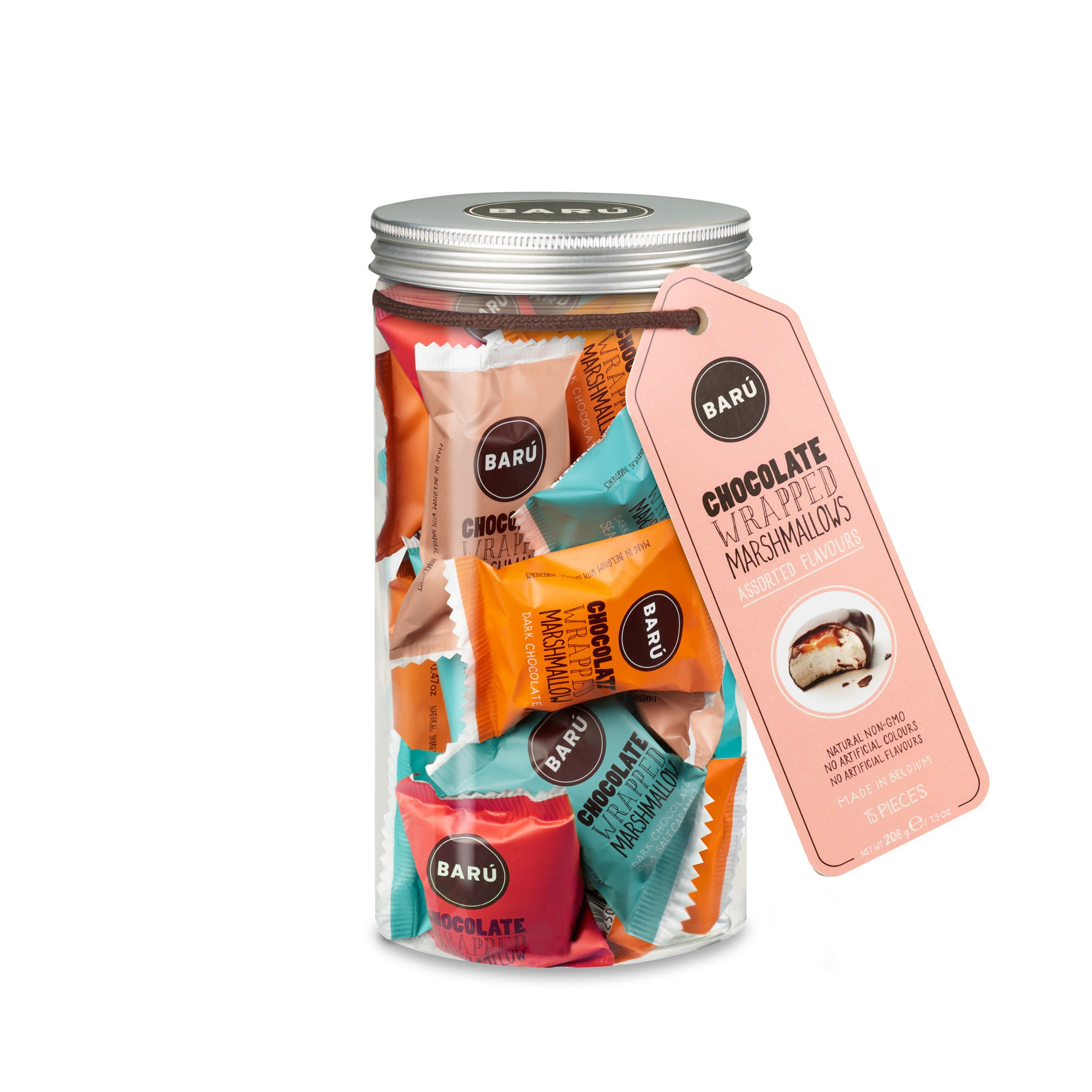 BARÚ - Chocolate Wrapped Heaven: Gift Jar Assorted Flavours