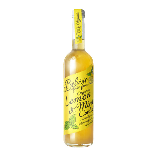 Belvoir Cordials: Organic Lemon & Mint Cordial 50 cl