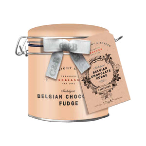 Cartwright & Butler Fudge: Belgian Chocolate Fudge in Tin