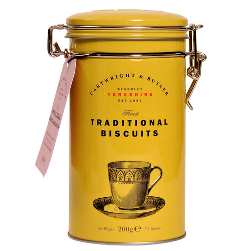 Cartwright and Butler Biscuits: Triple Chocolate Chunk Biscuit Tin 200 g