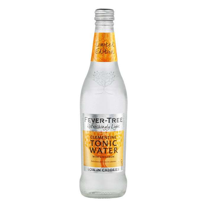 Fever-Tree Clementine Tonic Water with Cinnamon