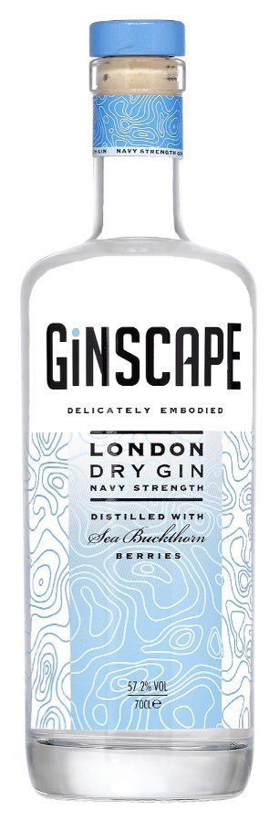 Ginscape Navy Strength London Dry Gin