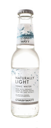 Lamb & Watt Naturally Light Tonic Water 12 x 200 ml.