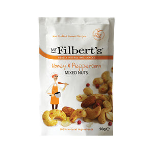 Mr. Filberts: Honey & Peppercorn Mixed Nuts 50 g