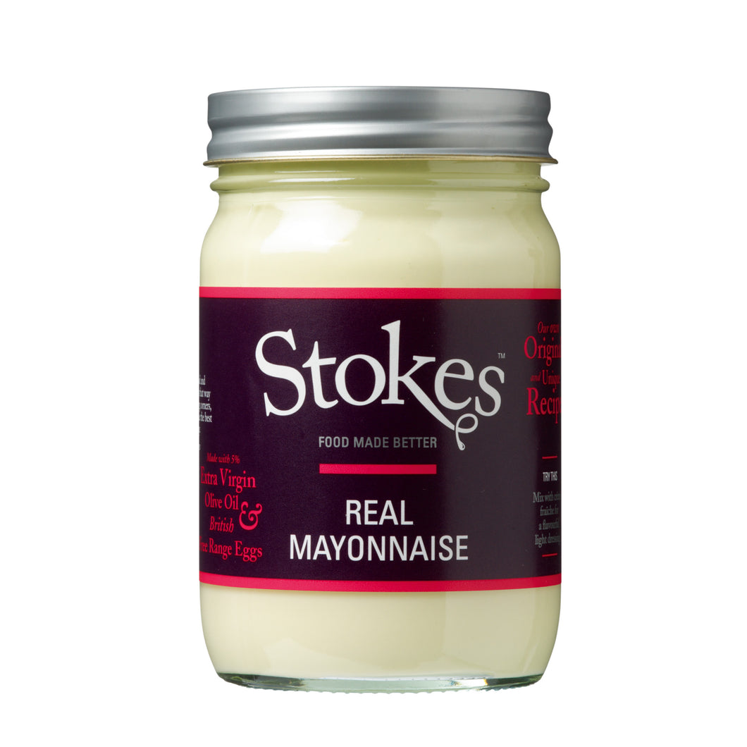 Stokes Mayonnaise: Real Mayonnaise 345 g