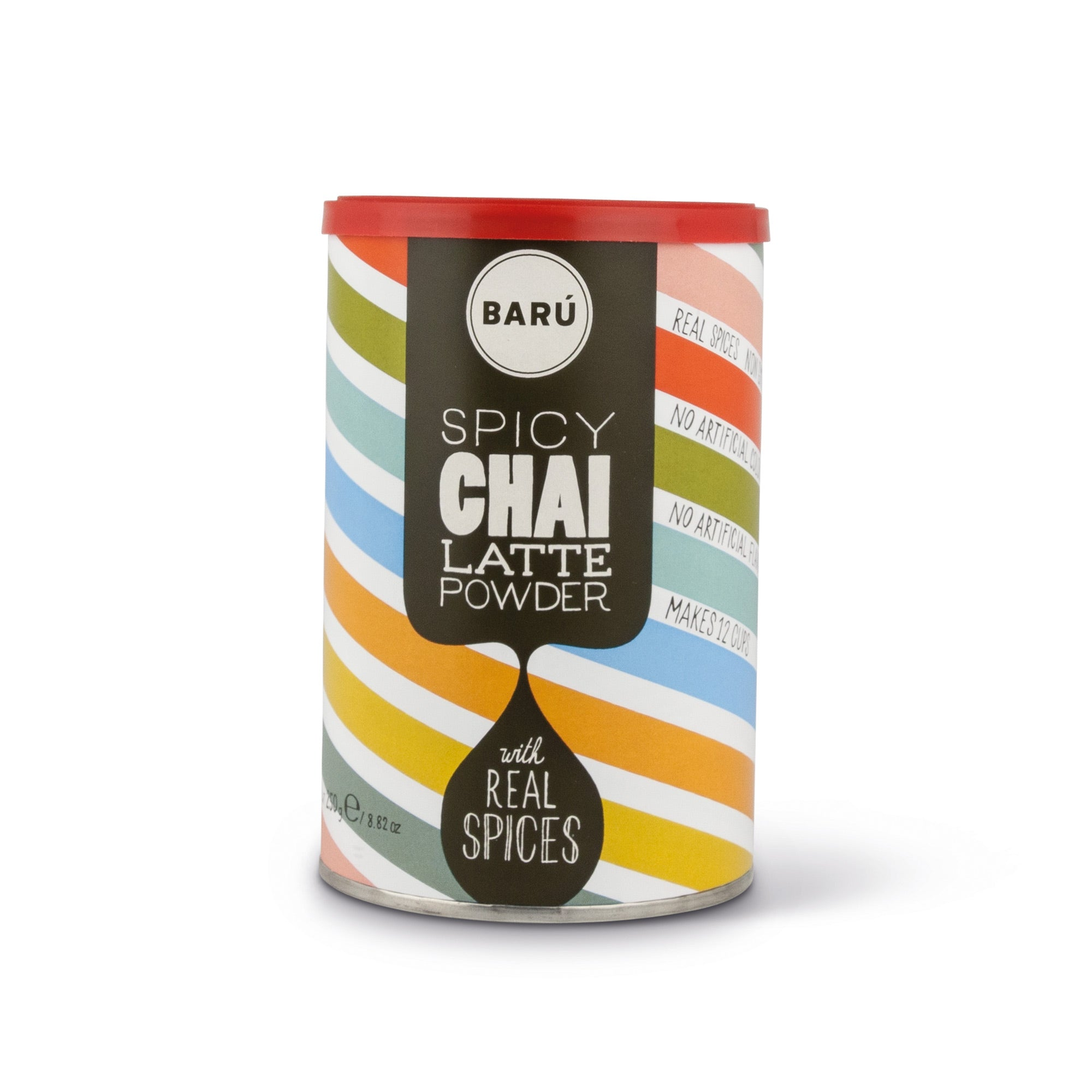 BARÚ – Swirly Drink Powders: Spicy Chai Latte 250 g