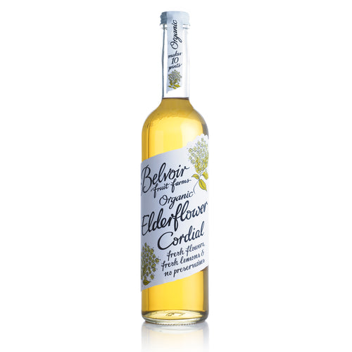 Belvoir Cordials: Organic Elderflower Cordial 50 cl