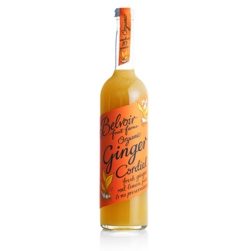 Belvoir Cordials: Organic Ginger 50 cl