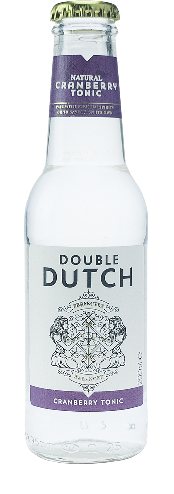 Double Dutch Cranberry Tonic Water 24 x 200 ml.