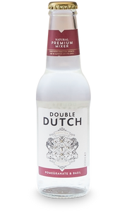 Double Dutch Pomegranate And Basil Mixer 24 x 200 ml.