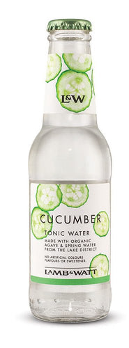 Lamb & Watt Cucumber Tonic Water 12 x 200 ml.