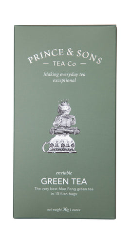 Prince & Sons Tea Company: Green Tea