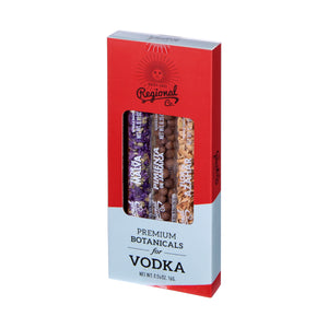 Regional Co. 3-Pack Botanicals til Vodka