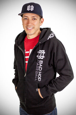 The Baseball Family Zip Up Hoodie