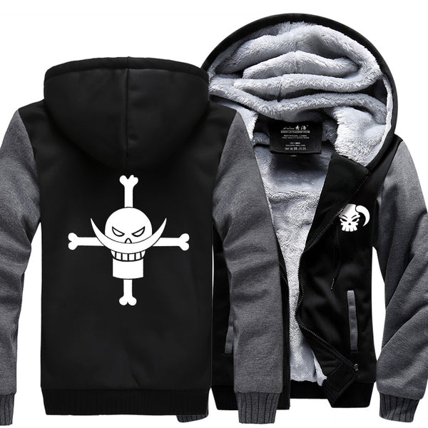 Whitebeard Pirates - One Piece Jacket - Anime Printed