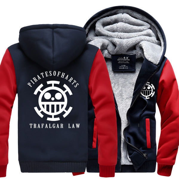Heart Pirates - One Piece Jacket - Anime Printed