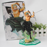 Zoro Battle Mode - One Piece Action Figure - Anime Printed
