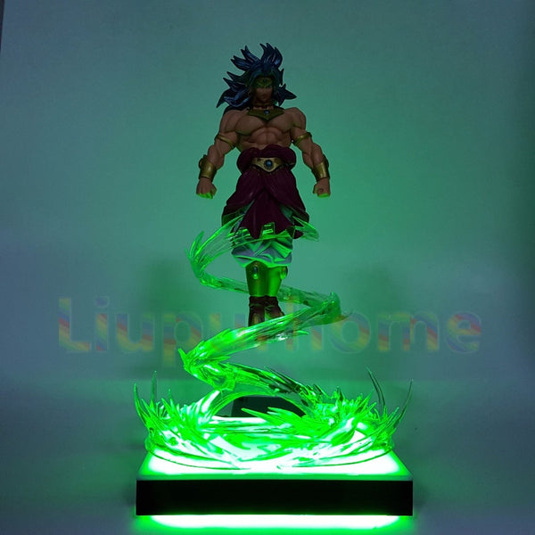 Broly Power Up - Dragon Ball LED Lamp - Anime Printed