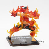 Ace on Fire - One Piece Action Figure - Anime Printed