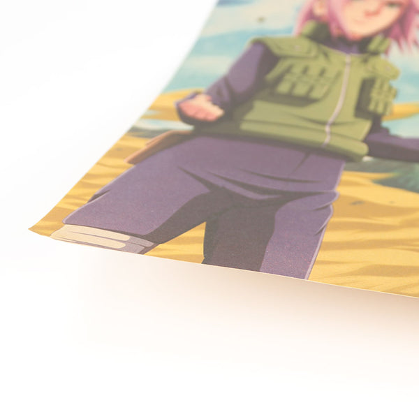 Naruto Team 7 Together Again Poster - Anime Printed