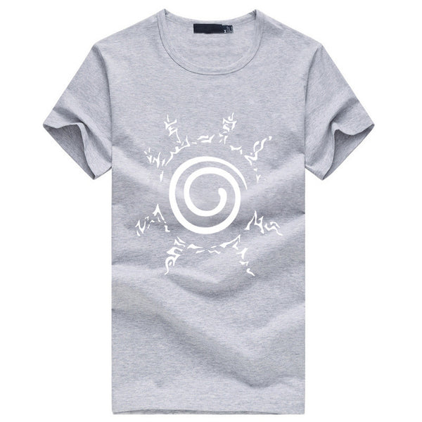 Kyuubi Seal Basic - Naruto T-shirt - Anime Printed